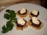 Kalamata olive appetizer