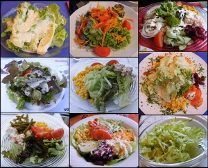A summer's worth of salads